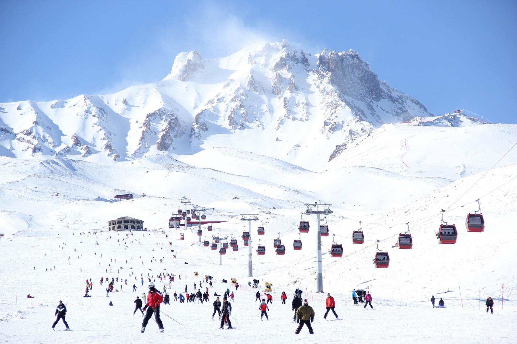 erciyes kayak merkezi orta